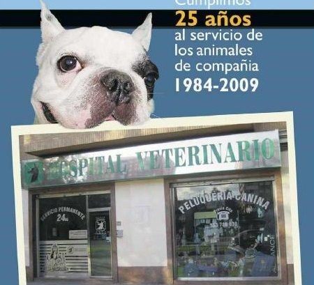 Revista 25 aniversaio hospital veterinario Cruz Cubierta