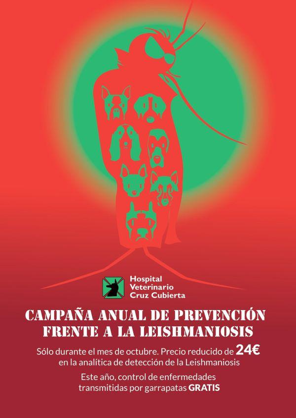 campaña prevención leishmaniosis octubre2015