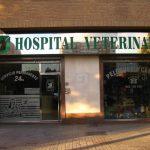 Fachada Hospital Veterinario Cruz Cubierta