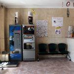 Sala de espera Hospital veterinario Cruz Cubierta