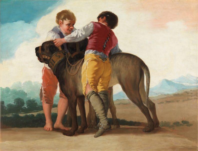 perros en la historia del arte